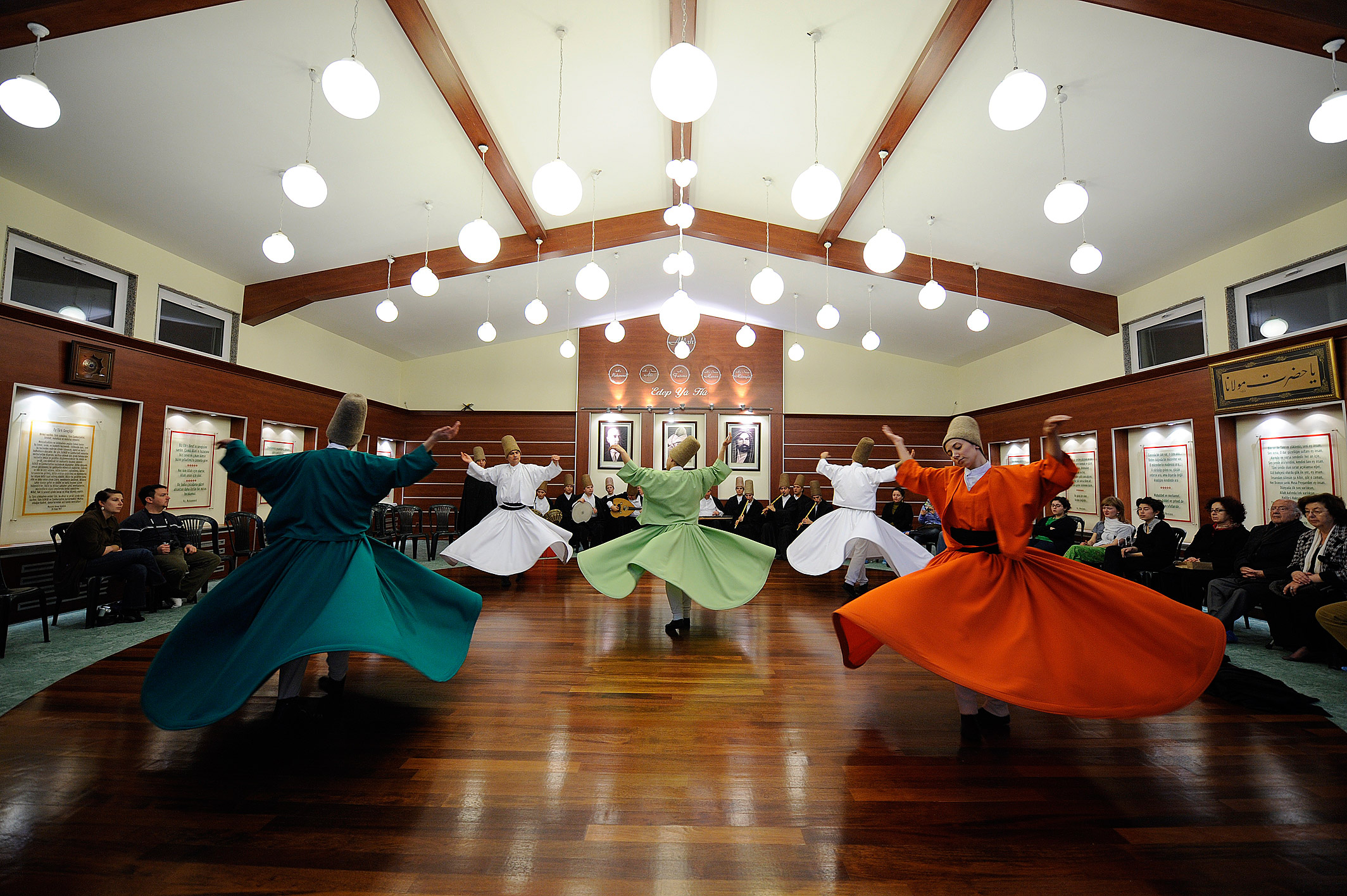Whirling Dervish Ceremony in Istanbul
